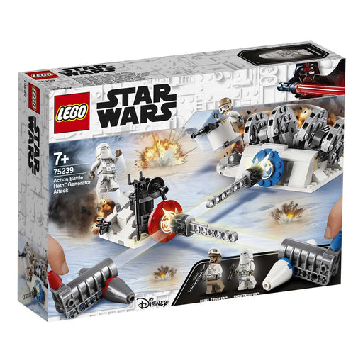 LEGO Star Wars Action Battle - Attacco Al Generatore Di Hoth - 75239