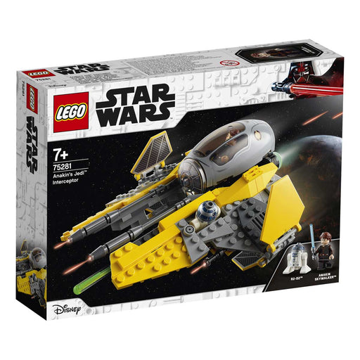 LEGO Star Wars Jedi Interceptor Di Anakin - 75281
