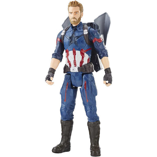 HASBRO Avengers Infinity War Captain America Titan Hero Power FX - E0607