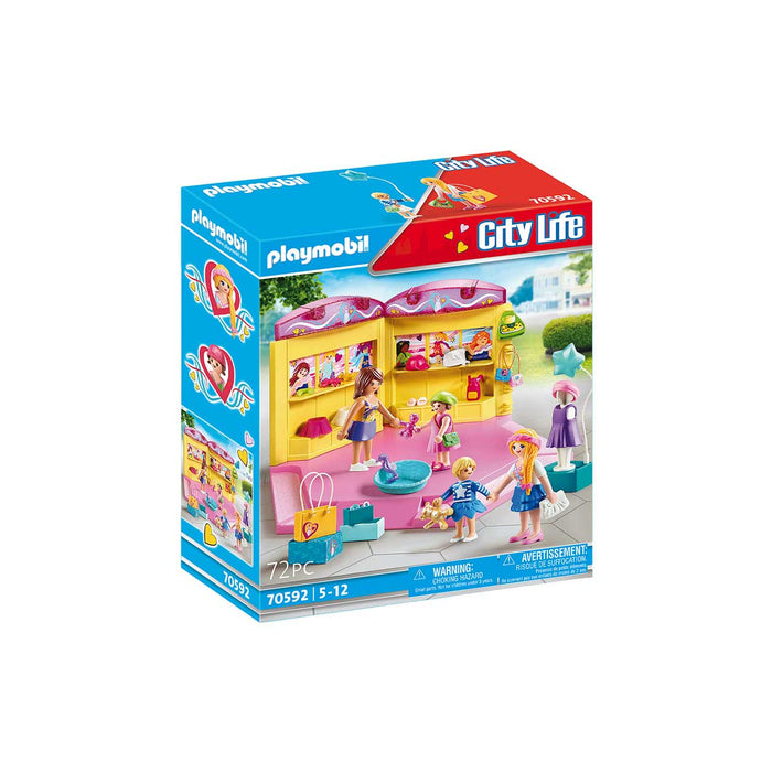 PLAYMOBIL Fashion Kids Store - 70592
