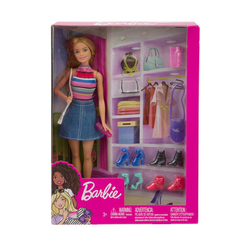 GIOCHERIA Barbie Stilista Armadio E Accessori - POS200078