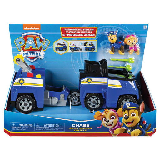 SPIN MASTER Paw Patrol Veicoli Split Second Ass.To - 6055931
