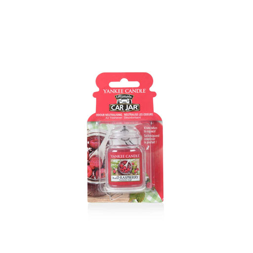 YANKEE CANDLE Car Jar Ultimate Red Raspberry - 1521592E