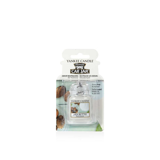 YANKEE CANDLE Car Jar Ultimate Shea Butter - 1521600E