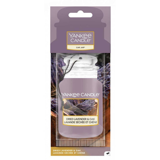 YANKEE CANDLE Car Jar Dried Lavender & Oak - 1627957E