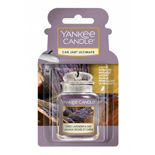 YANKEE CANDLE Car Jar Ultimate Dried Lavender & Oak - 1627965E