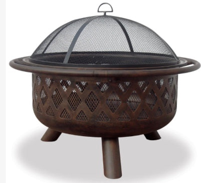 Mr. BBQ Firebowl With Lattice