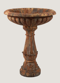 A Baroque Bird Bath