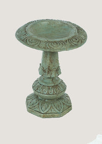 Decorative One Piece Birdbath