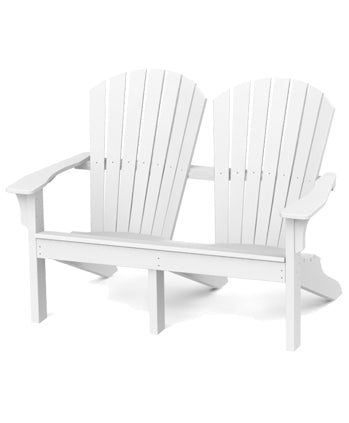 Seaside Casual Adirondack Shellback Love Seat