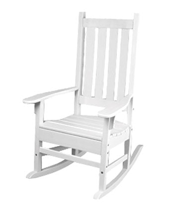 Seaside Casual Traditional Porch Rocker