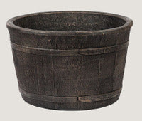 ASC Cedar Barrel Planter