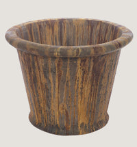 A Large Plain Rim Planter