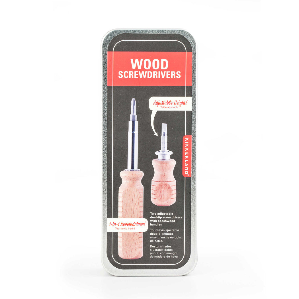 Wood Screwdriver Set