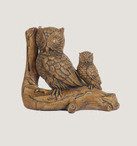 ASC Owl Family Statuary