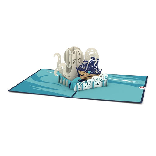 Love Pop Kraken Pop Up Card