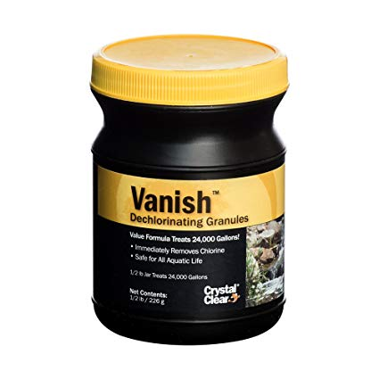 Vanish Dechlorinating Granules