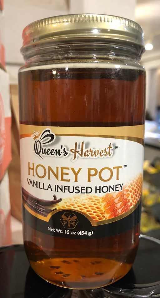 Built By Bees Vanilla Infused Honey