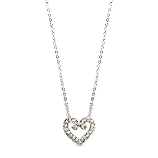 Kelly Water BL Open Heart Necklace