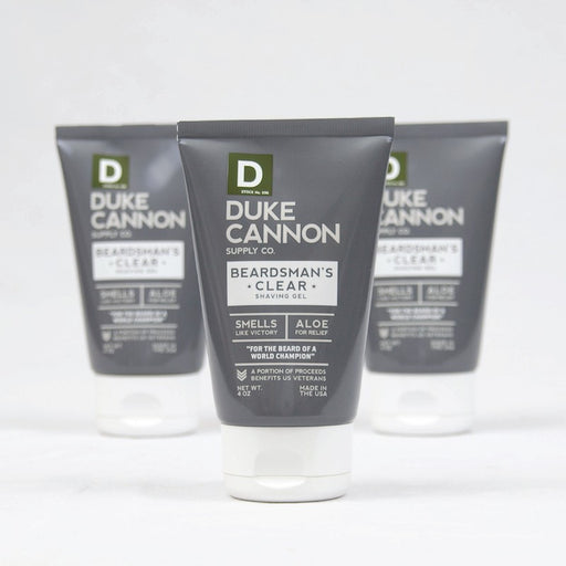 Duke Cannon Beardman's Clear Shave Gel
