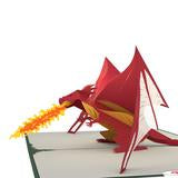 LovePop Dragon Pop Up Card