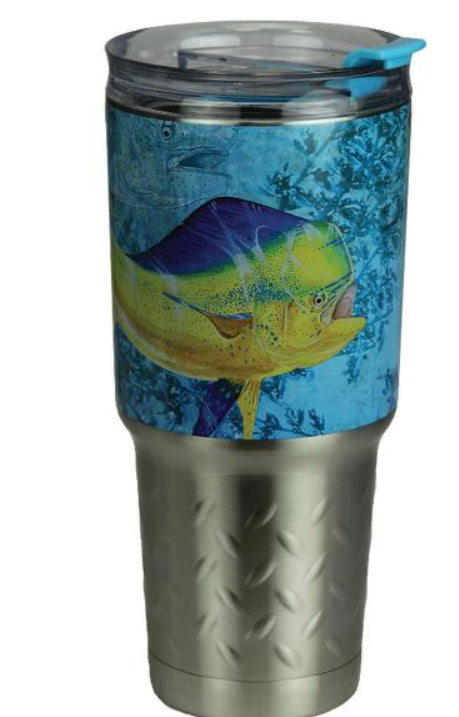 Guy Harvey  Stainless Steel Vacuum Insulated Tumbler