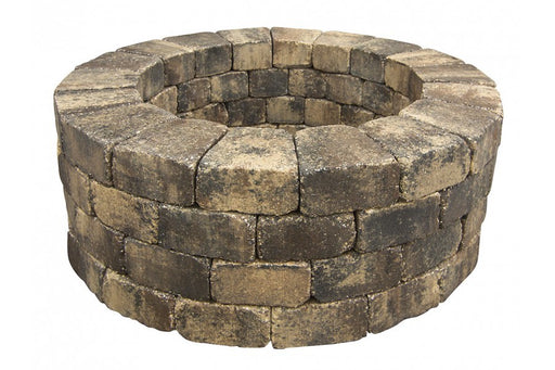 "Tremron 40"" Fire Pit outside 56""."