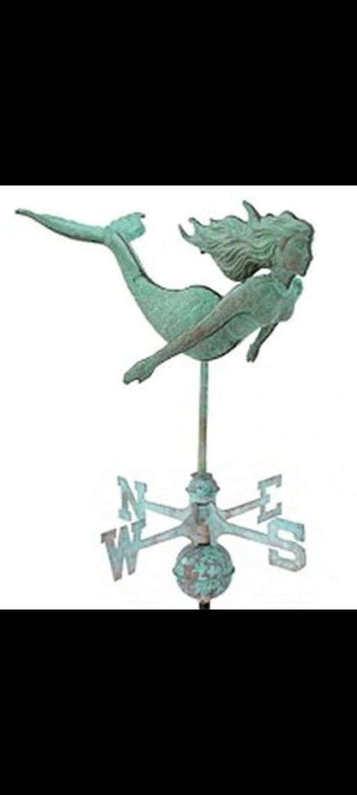 Cottage Mermaid Weathervane