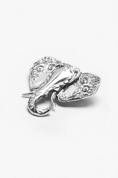 Silver Spoon Elephant Ring