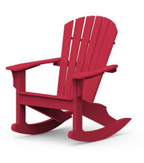 Seaside Casual Adirondack Shellback Rocker