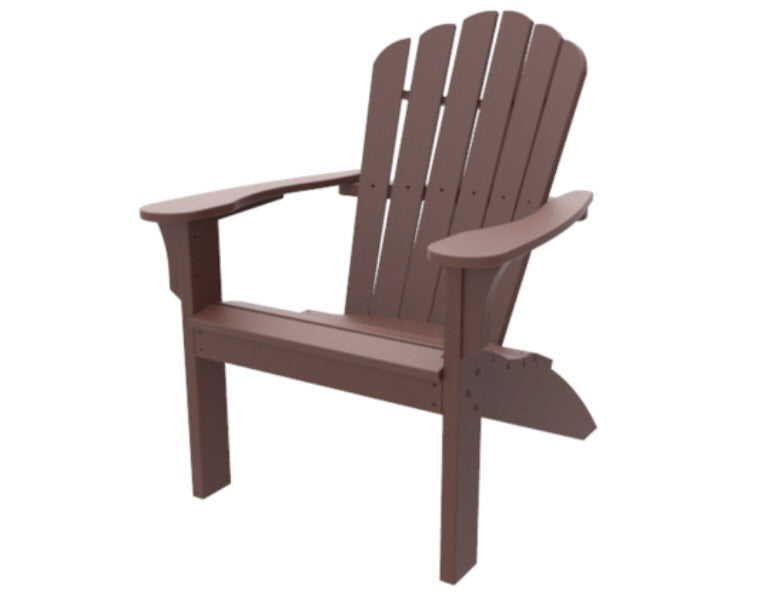 Seaside Casual Coastline Harbor View Adirondack Chair