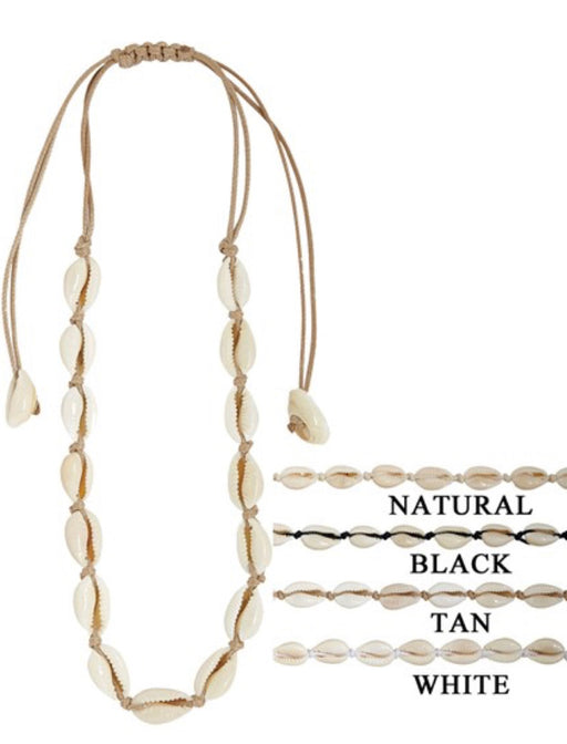 Cruz Cowrie Shell Necklaces