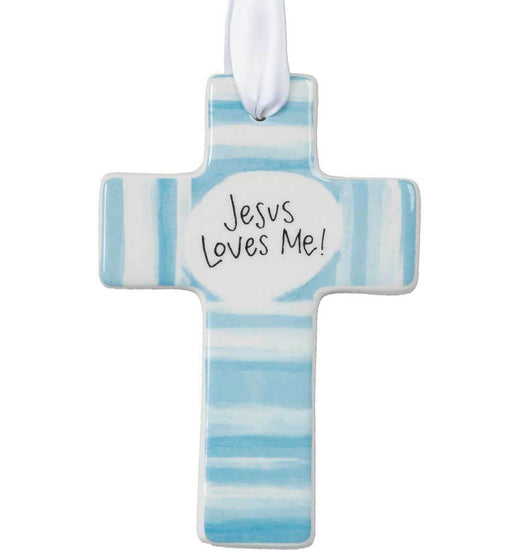 Ceramic Baby Cross