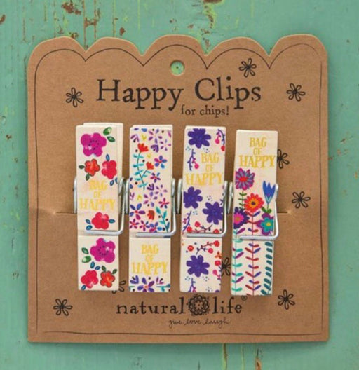 Natural Life  Happy Chip Clips