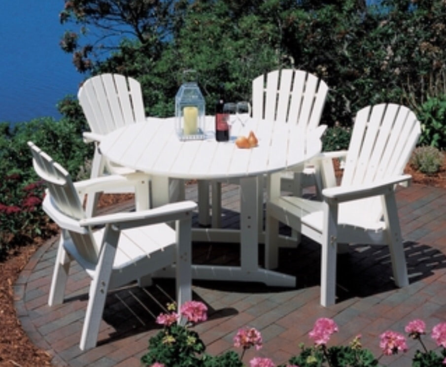 Seaside Casual Shellback Dining Chair