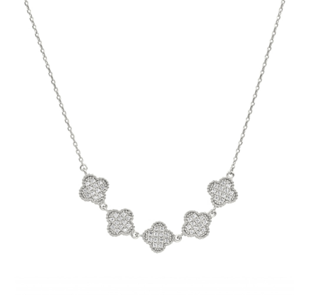 Kelly Waters BL Five Clover Necklace