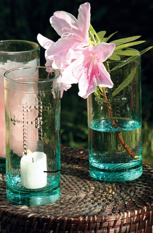 Rustic Glass Vase