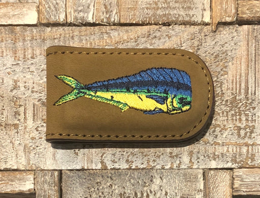 Zep-Pro Embroidered Fish Money Clip
