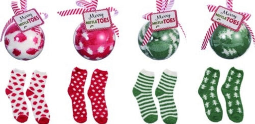 Merry MistleToes Sock Ornament