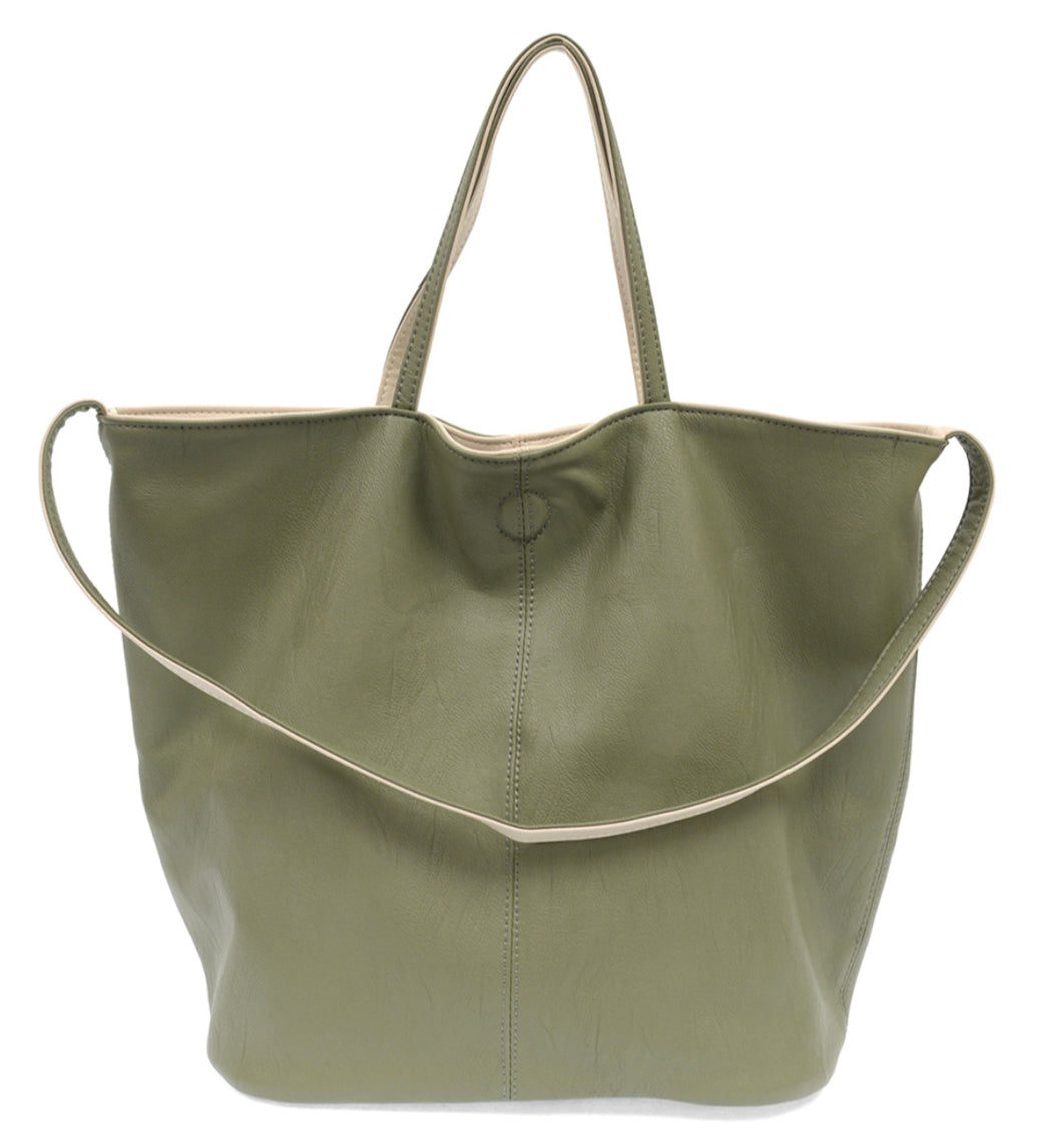Joy Susan Riley Reversible Slouchy Tote