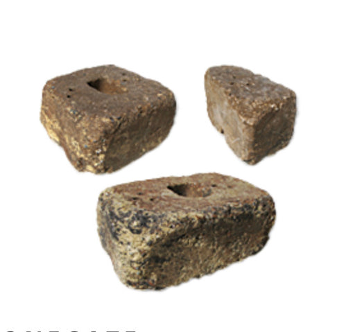 "Tremron Stonegate 6"" 3 Piece Wall Block Sierra Tumbled"