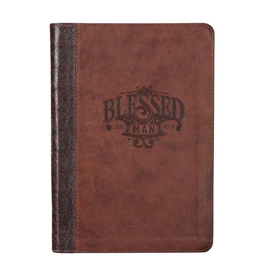 CAG Blessed Man Faux Leather Journal