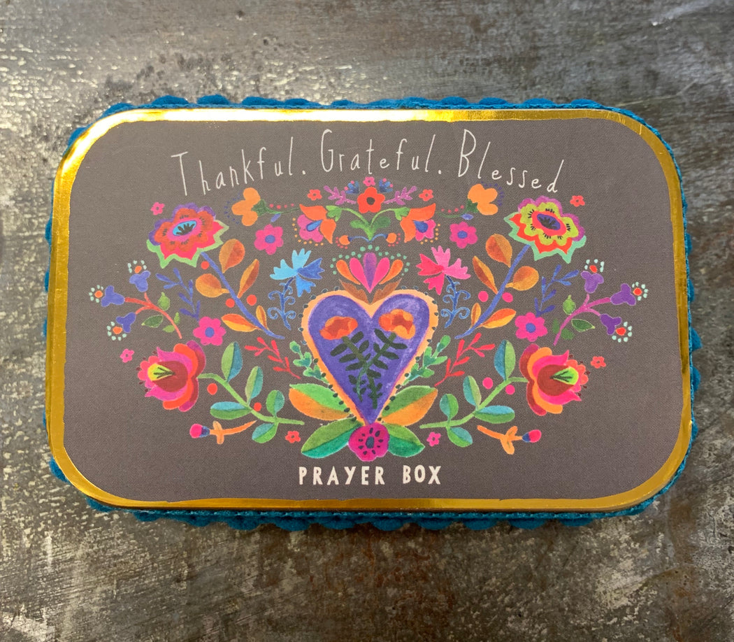 Natural Life Prayer/Bucket List Box