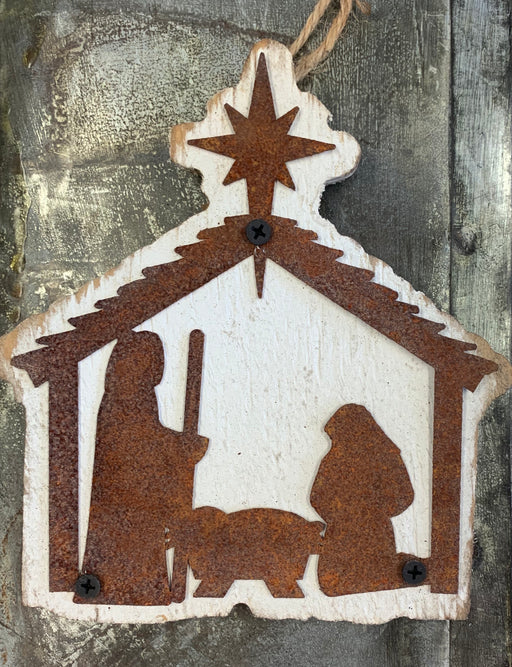 BB Nativity Ornament