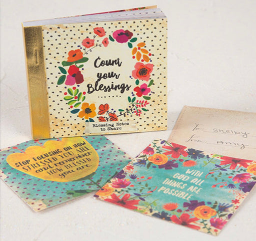 Natural Life Count Your Blessings Note Cards
