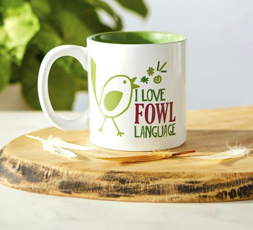 I Love Fowl Language Mug
