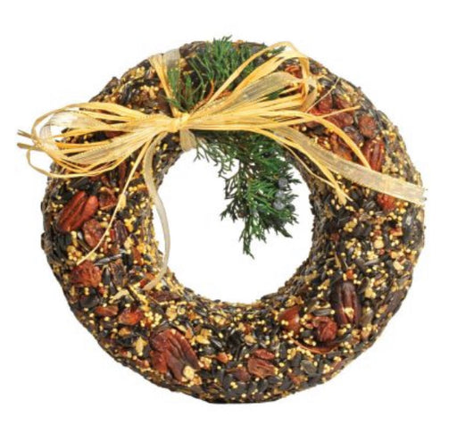 Mr. Bird Classic Pecan Wreath