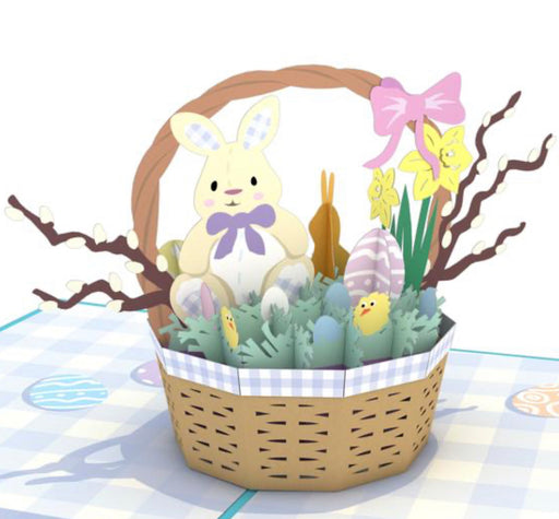 Lovepop Card Easter Basket