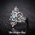 Earth Grace Filagree Ring