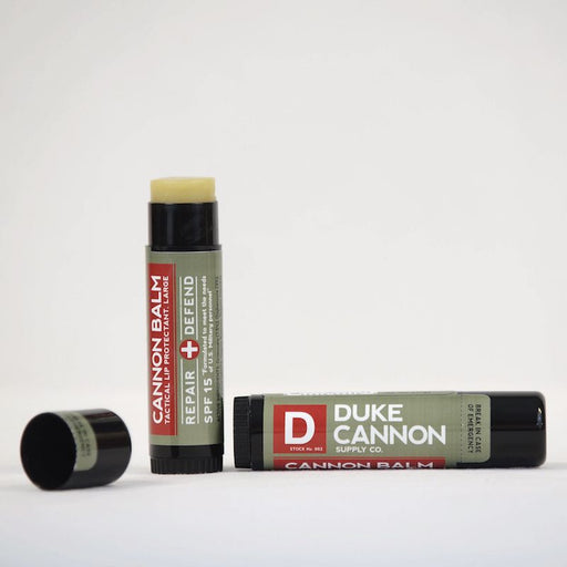 Duke Cannon Lip Balm with SPF